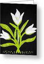 Tulips Greeting Card by Melissa Dawn
