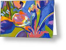Tulip Variations  Greeting Card