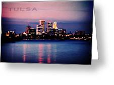 Tulsa Colors Greeting Card