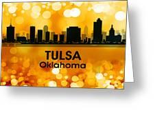Tulsa Ok 3 Greeting Card