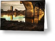 Tulsa Under Bridge 5 Greeting Card