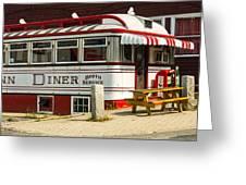 Tumble Inn Diner Claremont Nh Greeting Card
