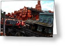 Tumbleweed Town Magic Kingdom Greeting Card