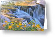 Tumbling Waters Greeting Card
