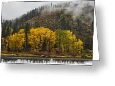 Tumwater Canyon Greeting Card