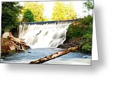 Tumwater Falls Greeting Card