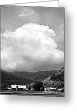 Tunbridge Vermont Storm Cloud Open Edition Greeting Card
