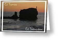 Tunco Card One Greeting Card