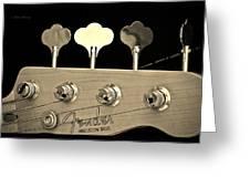 Fender Precision Bass Greeting Card
