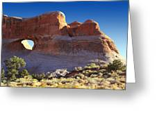 Tunnel Arch - Arches National Park Greeting Card