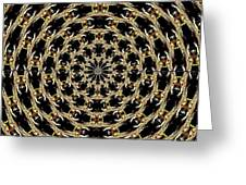 Tunnel Of Eyes Greeting Card