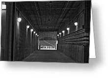 Tunnel Of Heroes 2 Greeting Card