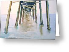 Tunnel Pier Greeting Card