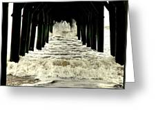 Tunnel Vision Greeting Card by Karen Wiles