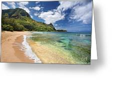 Tunnels Beach Bali Hai Point Greeting Card