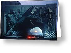Tunnelvision Greeting Card