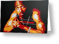 Tupac Pray For A Brighter Day Greeting Card