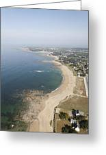 Turballe Shoreline, La Turballe Greeting Card