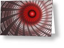 Turbine 2 Greeting Card
