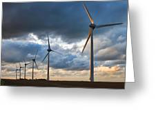 Turbines Greeting Card