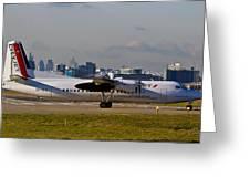 Turboprop Aircraft Greeting Card