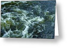 Turbulance At Loch Ness Greeting Card