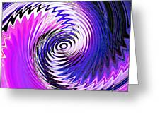 Turbulence Greeting Card