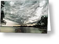 Turbulent Airflow Greeting Card