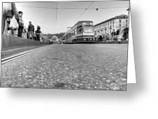 Turin Trolley Greeting Card