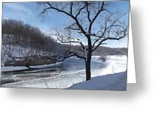 Turkey River Greeting Card