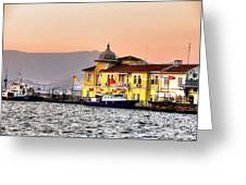 Turkish Water Police Station Greeting Card