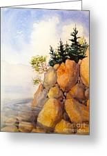 Turnagain Rocks Greeting Card