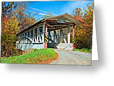 Turner's Covered Bridge Greeting Card