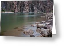 Turquoise Colorado River Greeting Card