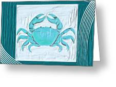 Turquoise Seashells Xix Greeting Card