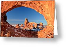 Turret Arch Frame Greeting Card