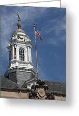 Turret Main Post Office Annapolis Greeting Card