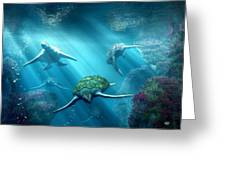 Turtle Alley Greeting Card