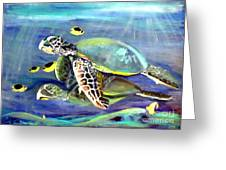 Turtle Duo Greeting Card