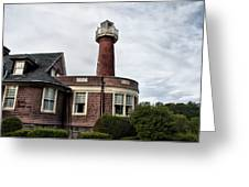 Turtle Rock Light House In Philly Greeting Card