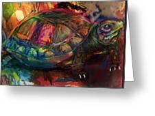 Turtle Time Greeting Card