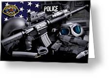 Tuscaloosa Police Greeting Card by Gary Yost