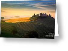 Tuscan Dawn Greeting Card by Inge Johnsson
