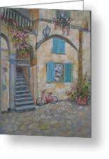 Tuscan Delight Greeting Card by Mohamed Hirji