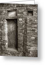 Tuscan Doorway Greeting Card