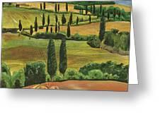 Tuscan Dream 1 Greeting Card