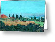 Tuscan Farm Greeting Card