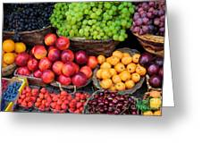 Tuscan Fruit Greeting Card
