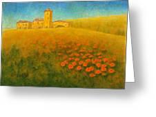 Tuscan Gold 1 Greeting Card