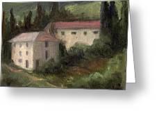Tuscan Landscape II Greeting Card